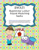 ABC SWAT!  - Beginning sound - letter matching game (Commo