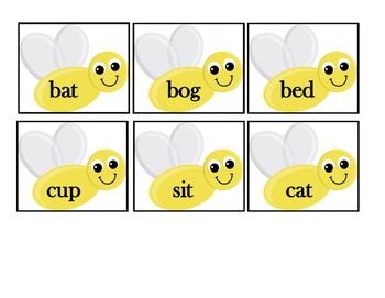 SWAT- CVC Word Activity for K-1
