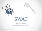 SWAT:Fly Swatter Game- Irregular verbs in Spanish-Avancemo