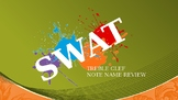 SWAT: Full Treble Clef Note Review Game