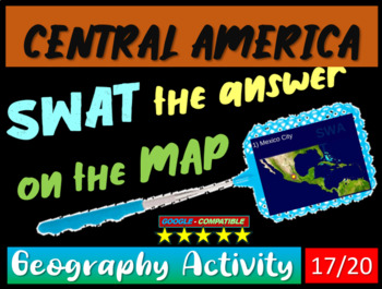 SWAT GEOGRAPHY REVIEW GAME 17 - Central America (20 questions)