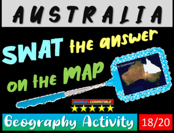 SWAT GEOGRAPHY REVIEW GAME 18 - Australia (20 questions)
