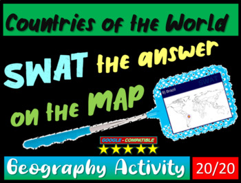 Swat geography review game 20 world countries 20 questions tpt swat geography review game 20 world countries 20 questions gumiabroncs Choice Image