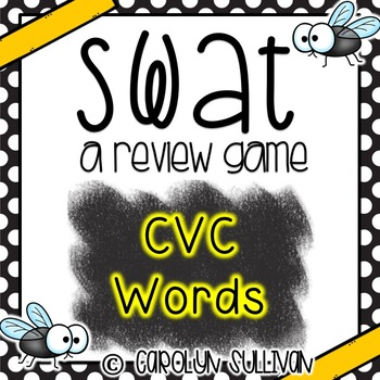 SWAT Game for CVC Words