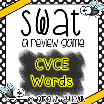 SWAT Game for CVCE Words
