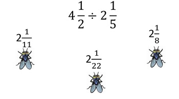 SWAT Game for Dividing Fractions