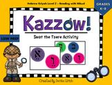 Kazzow! Aleph Bet/ Aleph Beis Hebrew Tseirei Activity (Swa