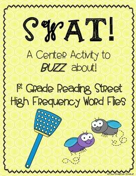 SWAT! Sight Word Flies (1st Grade Reading Street HFW)