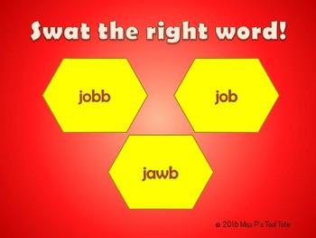 SWAT!  (J spelled j, dge, ge, gi, gy)