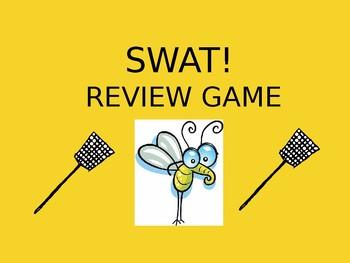 SWAT! Review Game for Slope-Intercept Form + Standard Form