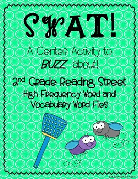SWAT! Sight Word Flies (2nd Grade Reading Street High Frequency and Vocab Words)