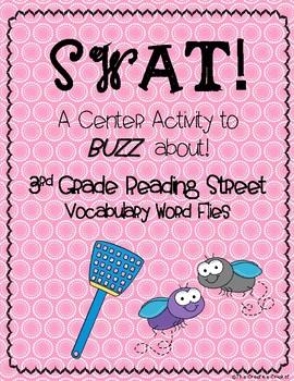 SWAT! Vocabulary Word Flies (3rd Grade Reading Street Vocabulary Words)