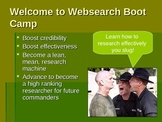 S.W.A.T. - Website Evaluation Lesson PowerPoint