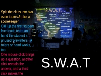 SWAT review game for Africa