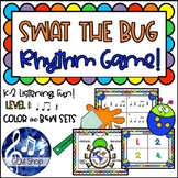 SWAT the RHYTHM BUG, Fly GAME K-2 MUSIC Level 1: Differentiated Learning Fun!