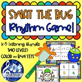 SWAT the RHYTHM BUG, Fly Game BUNDLE for K-5, Differentiated MUSIC FUN!