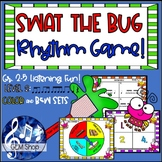 SWAT the RHYTHM BUG, Fly Game LEVEL 2 for Gr. 2-5, Differentiated MUSIC FUN!