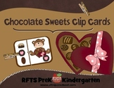 SWEET CHOCOLATE CLIP CARDS