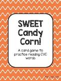 SWEET Candy Corn!   A Halloween Themed CVC Card Game