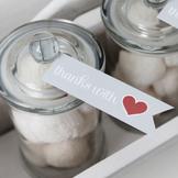 SWEET LOVE Valentine Printable Gift Tags