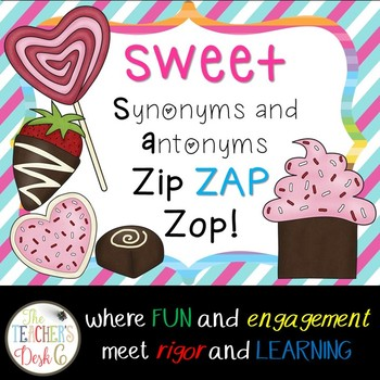 SWEET Synonyms and Antonyms ZAP!