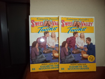 Sweet Valley Twins ISBN 0-553-54191-9 (Set of 2)