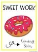 SWEET WORK Coming Soon-Doughnuts