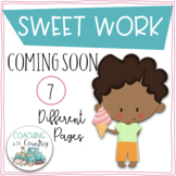 SWEET WORK Coming Soon-Ice Cream and Kids