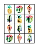 SWEET Watercolor Calendar Numbers *Classroom Organization*