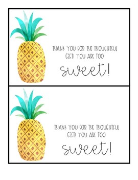 SWEET Watercolor Thank You Notes