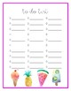 SWEET To Do List- 16 Versions!