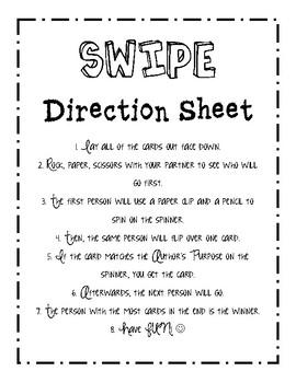 SWIPE! Author's Purpose