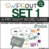 Fry Sight Words Center (Swipeout First 100 Words: 1-20)