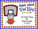 SWISH! Card Game DOLCH WORDS Grade 3