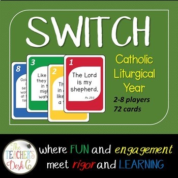 SWITCH Card Game Catholic Liturgical Year