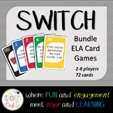 SWITCH Card Game BUNDLE Sent. Structure, Verbs, Kind of Se