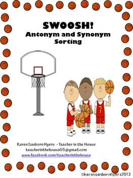 SWOOSH! Antonym and Synonym Sorting