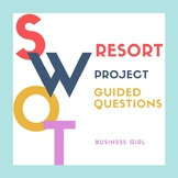 SWOT Analysis Resort Project with Guided Questions