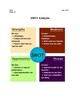SWOT Business Lesson Plan