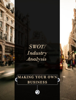 SWOT/ INDUSTRY analysis lesson and project