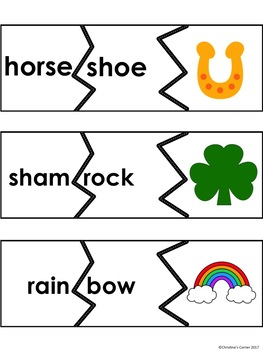 SYLLABLE Activities Game Cards Worksheets Printables Spring 1st 2nd 3rd Grade