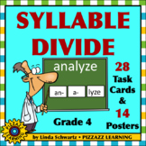 SYLLABLE DIVIDE • BACK-TO-SCHOOL • GRADE 4