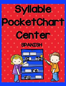 SYLLABLE POCKET CHART ~Spanish~  L,T,F,R
