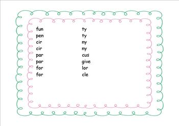 SYLLABLE SEARCH FOR THE SMARTBOARD