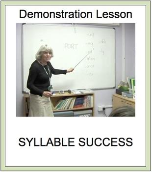 SYLLABLE SUCCESS 7  - PREFIXES, SUFFIXES, ROOT WORDS