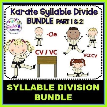 SYLLABLES TYPES & SYLLABLE DIVISION BUNDLE Part 1 & 2