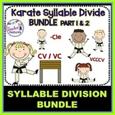 SYLLABLES TYPES and SYLLABLE DIVISION BUNDLE Part 1 & 2
