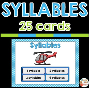 SYLLABLES - digital resource - BOOM CARDS