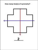 Symmetry: Line of Symmetry Practice (animated)
