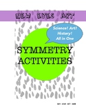 SYMMETRY Activities! Versatile Lesson for Art, Science and History! Ink Blots!